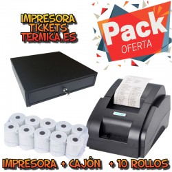 PACK IMPRESORA TICKETS...