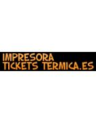 IMPRESORAS DE  TICKETS TÉRMICAS