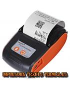 IMPRESORAS DE TICKETS TÉRMICAS BLUETOOTH 58 MM